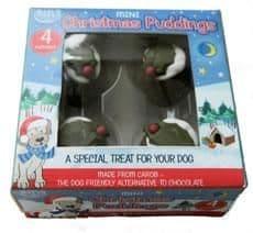 Hatchwells dog mini carob christmas pudding